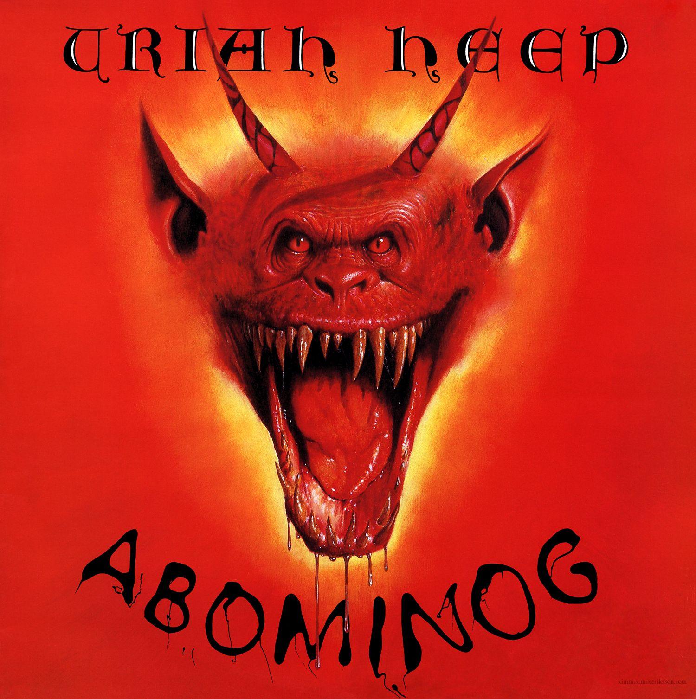 Uriah Heep: Abominog | Rock album covers, Heep, Album