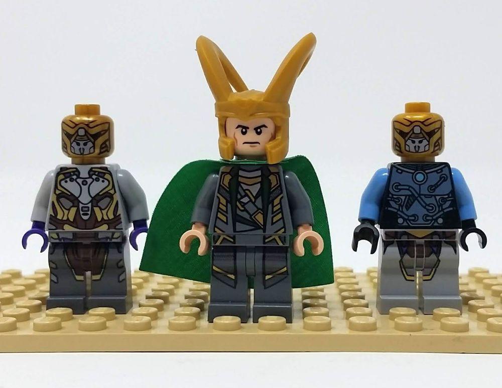 Lego Loki Henchman Minifigure Lot Marvel Super Heroes ...
