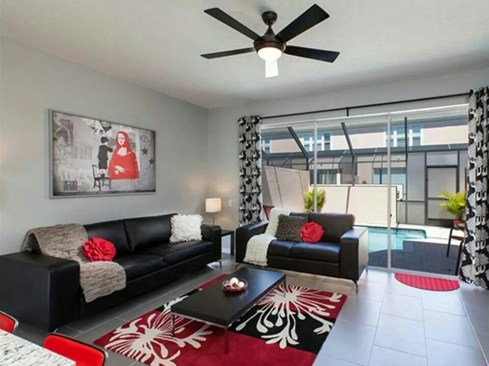 Ikea Ideas Red Living Room Decor Black Red Living Room Living