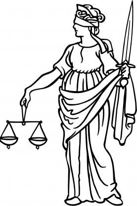 blind justice current career pinterest lady justice justice Alu Circuit Symbol lady justice line drawing