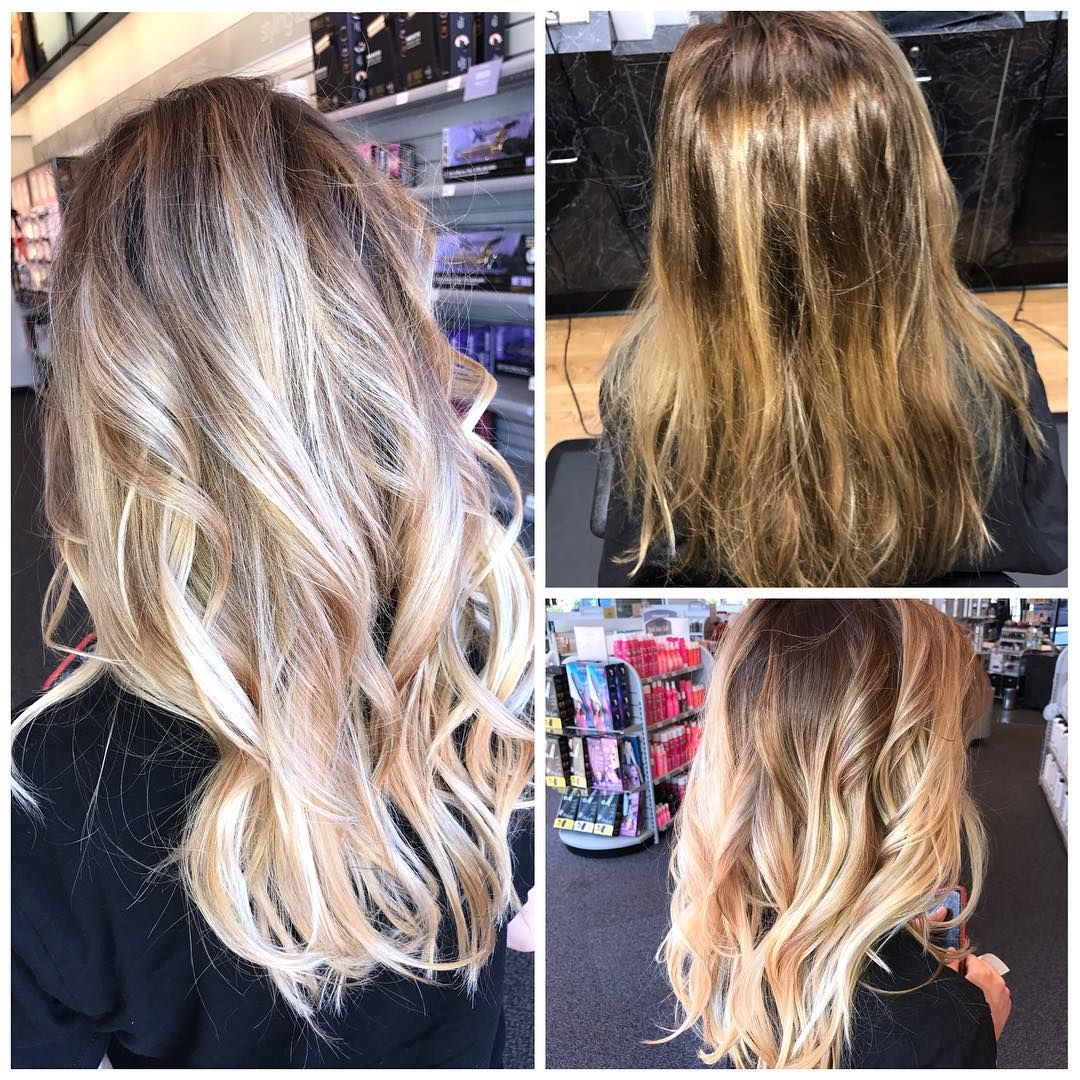 Fixed her Ombré/ Balayage she had goin on<3  http://tipsrazzi.com/ipost/1524996521992866904/?code=BUp4EHJF0xY
