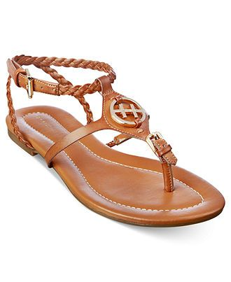 be979b8627182 Tommy Hilfiger Strom Flat Sandals - Sandals - Shoes - Macy s