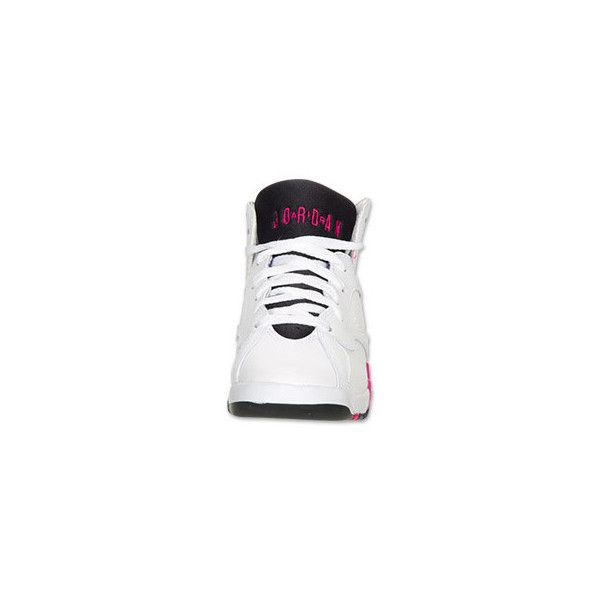 reputable site b0bb8 9ee96 Air Jordan Retro 7 Kids  Basketball Shoes ( 150) ❤ liked on Polyvore  featuring
