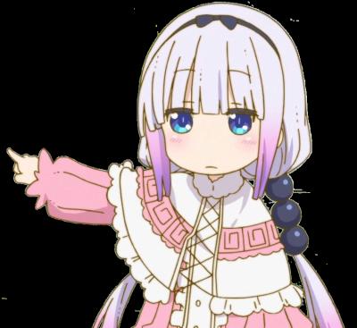 Kamui Kanna Kobayashi San Chi No Maid Dragon Kobayashi San Chi No Maid Dragon Miss Kobayashi S Dragon Maid Anime