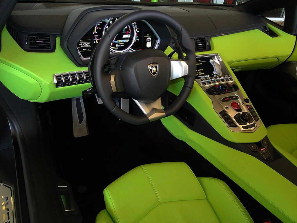 2014 Lamborghini Aventador Lp700 4 Roadster Green Www