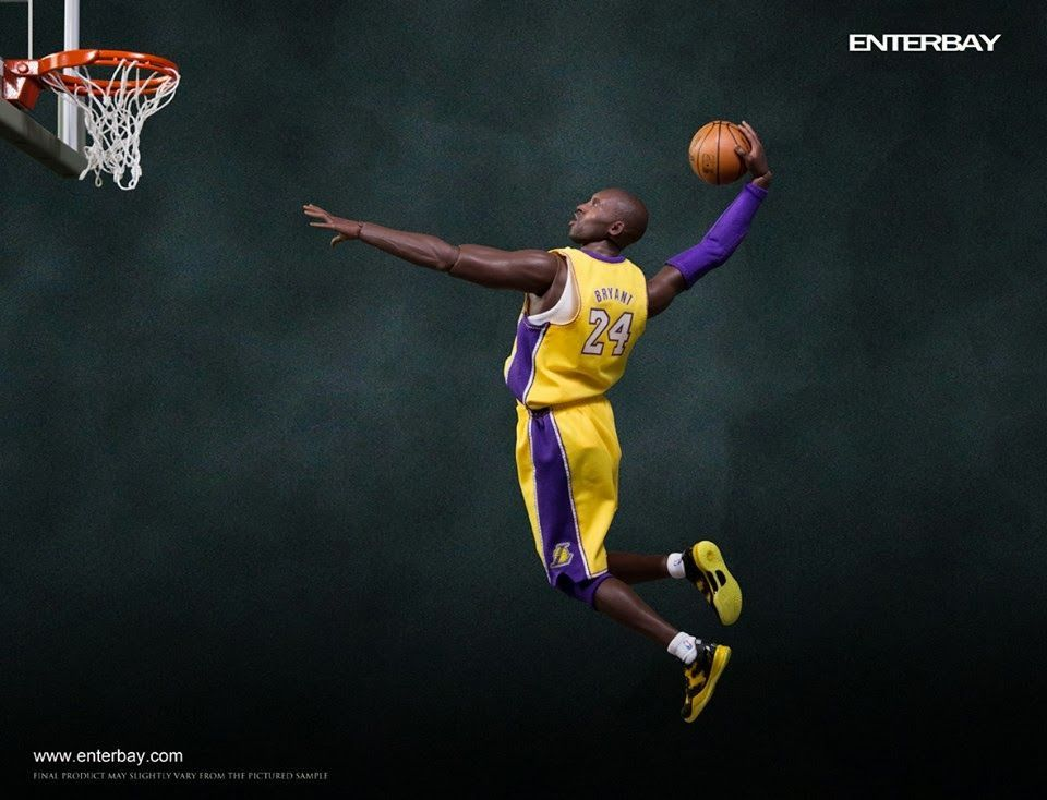 Kobie Bryant dunk Kobe bryant, Kobe, Nba figures