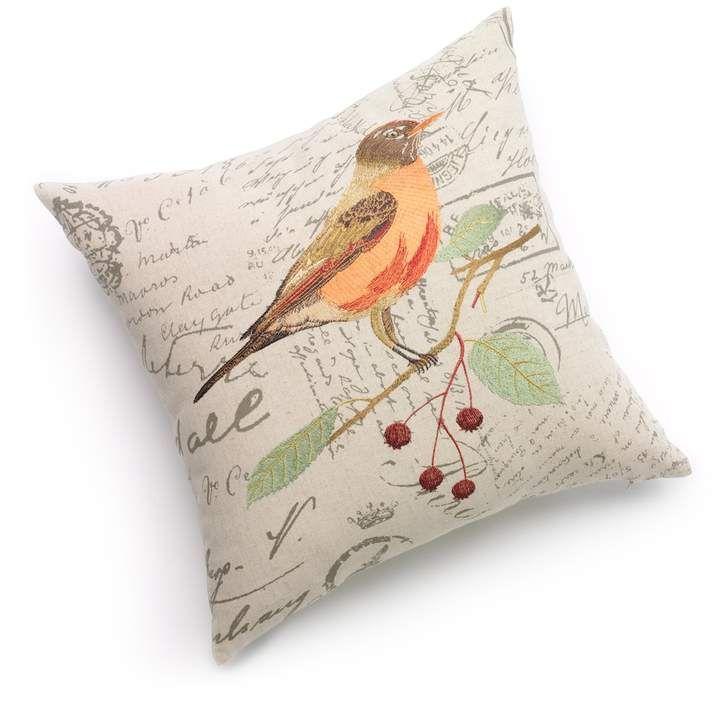 Terry Bird Decorative Pillow Products Extraordinary Spencer Home Decor Tweets Bird Throw Pillow