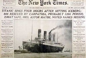 Speed of the Titanic