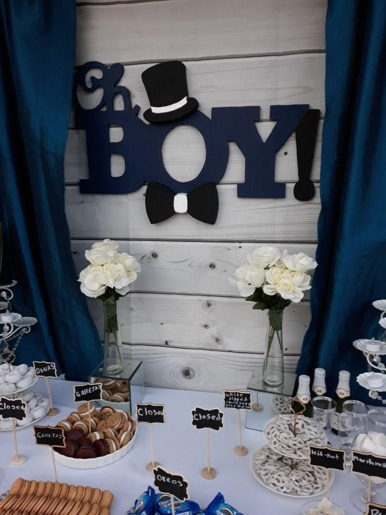Oh Boy Baby Shower Backdrop By Rivera Crafts Boy Baby Shower