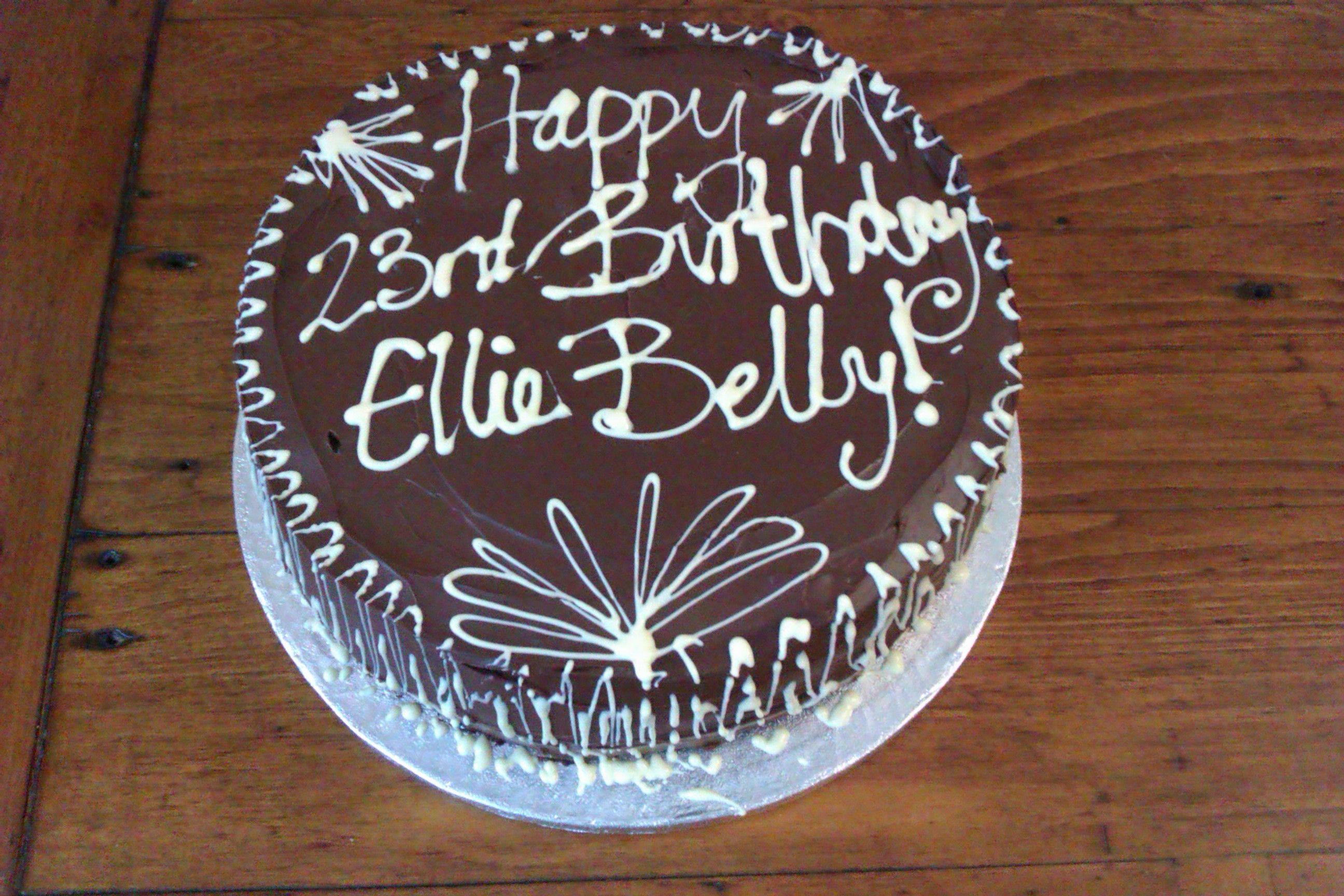 Chocolate gluten free cake!
