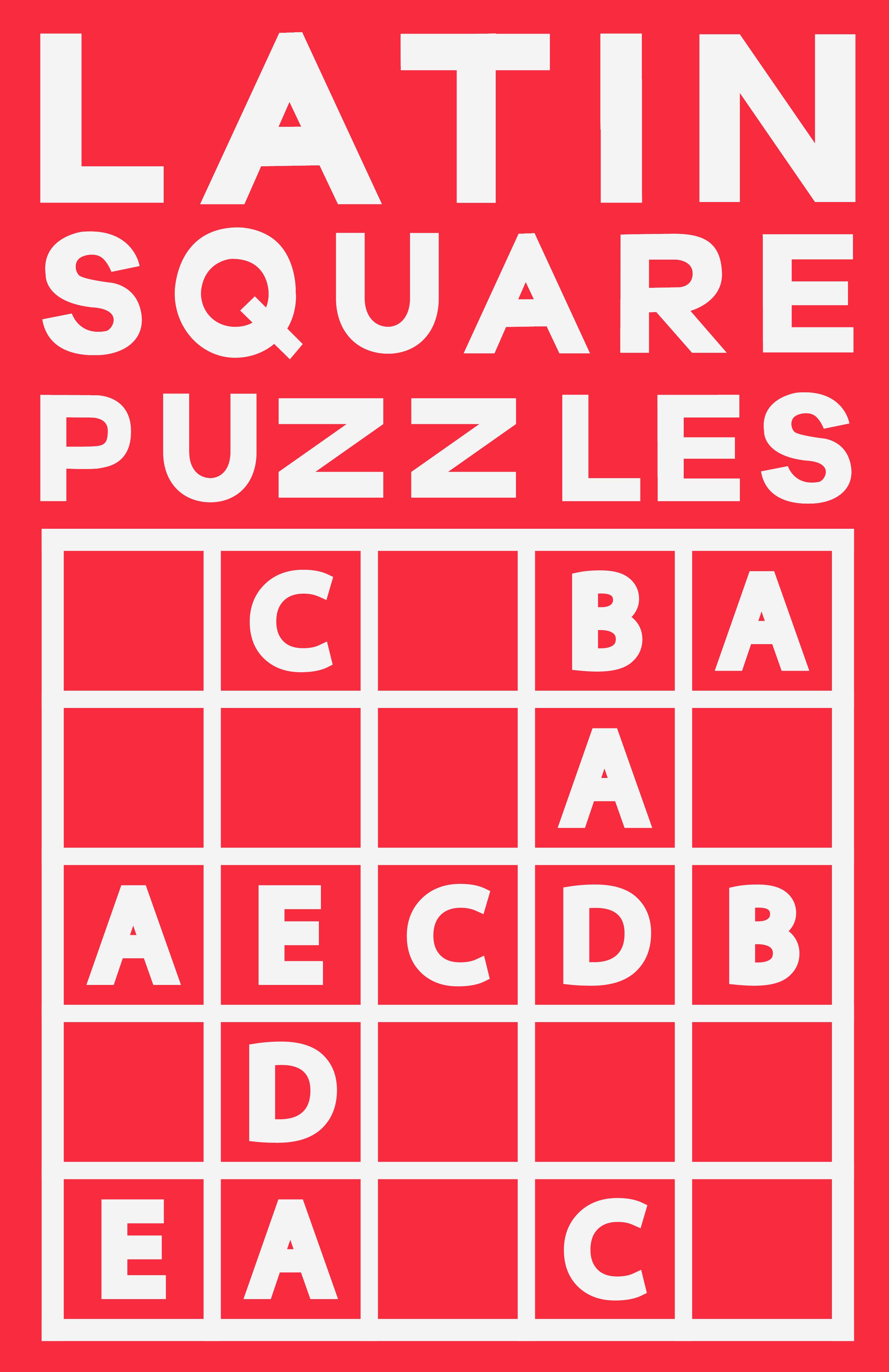 Latin Square Puzzles Puzzle, Latin