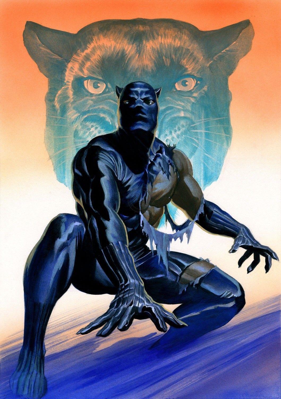 Pantera Negra MARVEL COMICS Alex Ross em 2020 | Jim lee, Batman e superman, Alex  ross