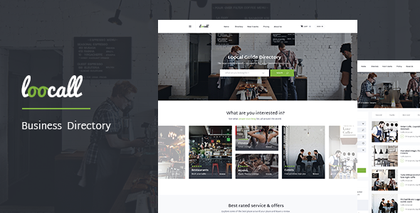Loocall modern business directory entertainment httpwpskull free responsive loocall modern business directory template theme at weebfast cheaphphosting Image collections