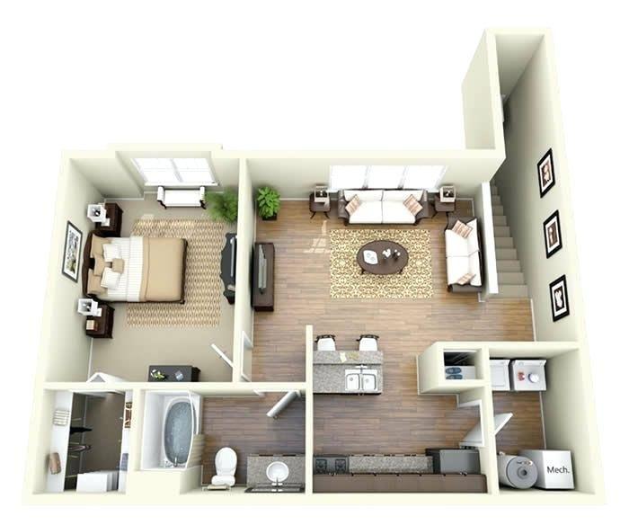Image Result For 1 Bedroom Garage Apartments