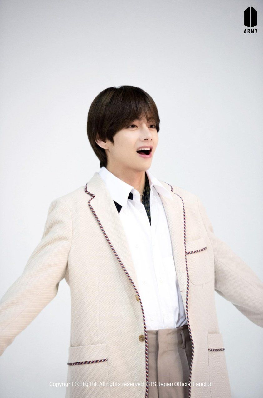 Bts Japan Fanclub On In 2020 Taehyung Bts Taehyung V Taehyung