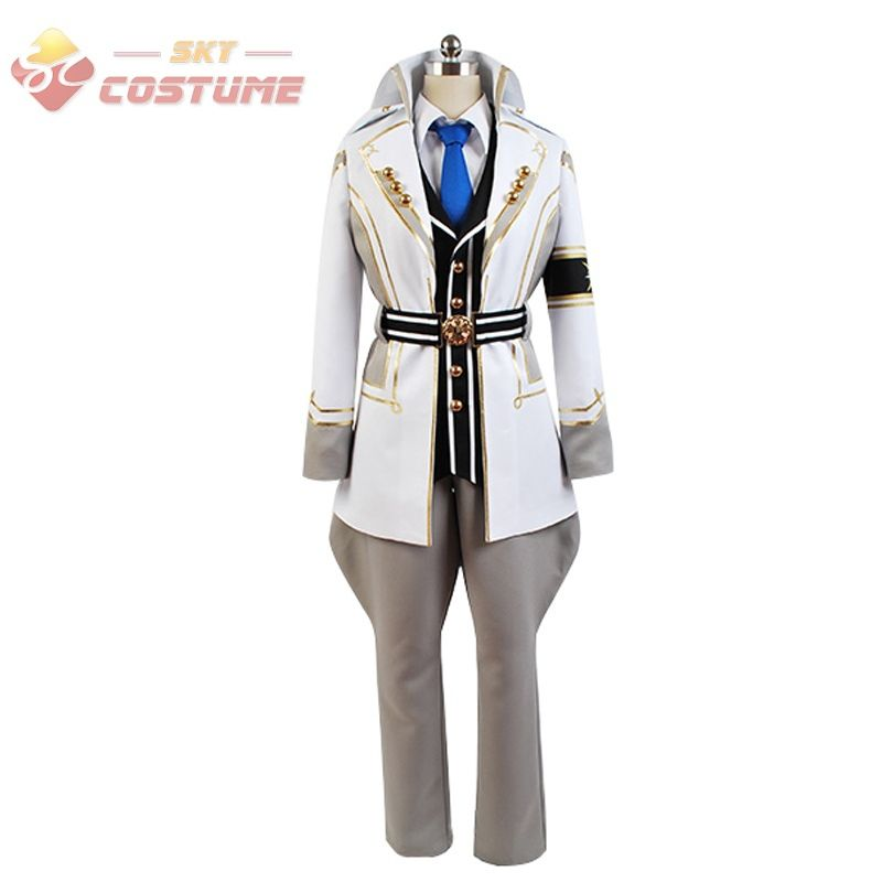 Kamigami no Asobi: Ludere deorum Tsukito Totsuka Uniform Jacket Shirt Vest Anime  Halloween Party Cosplay