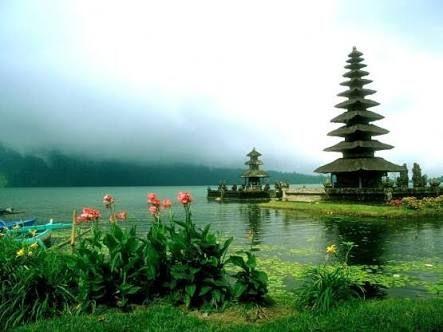 indonesia pemandangan alam