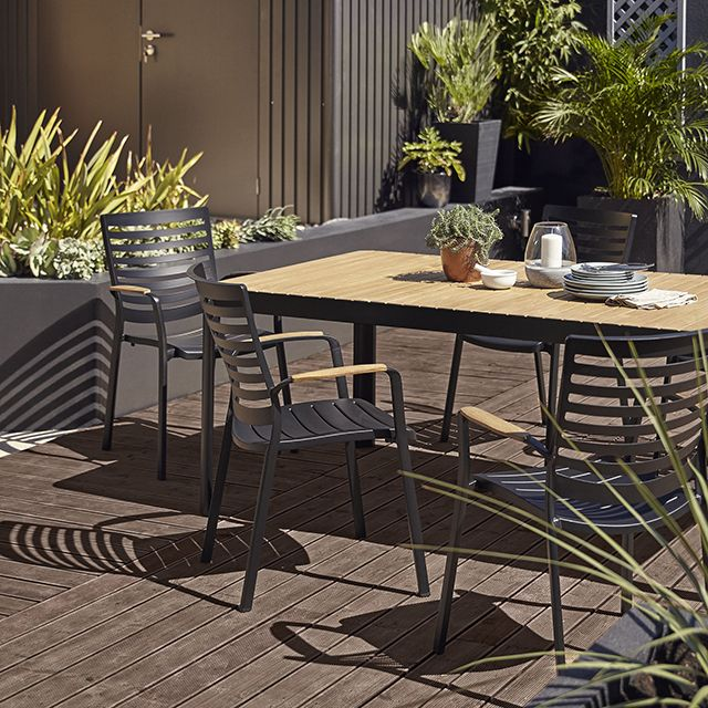 Table de jardin Kea 209 x 105 cm | projets | Table de jardin, Table ...