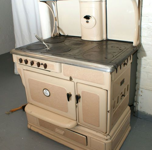 Kitchen Stove Fire: Antique Bengal Gas And Wood Fired Cook Stove