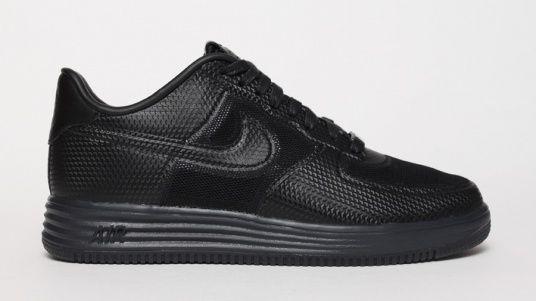 Nike Lunar Force 1 Black Shoes Pinterest Nike lunar, Asics