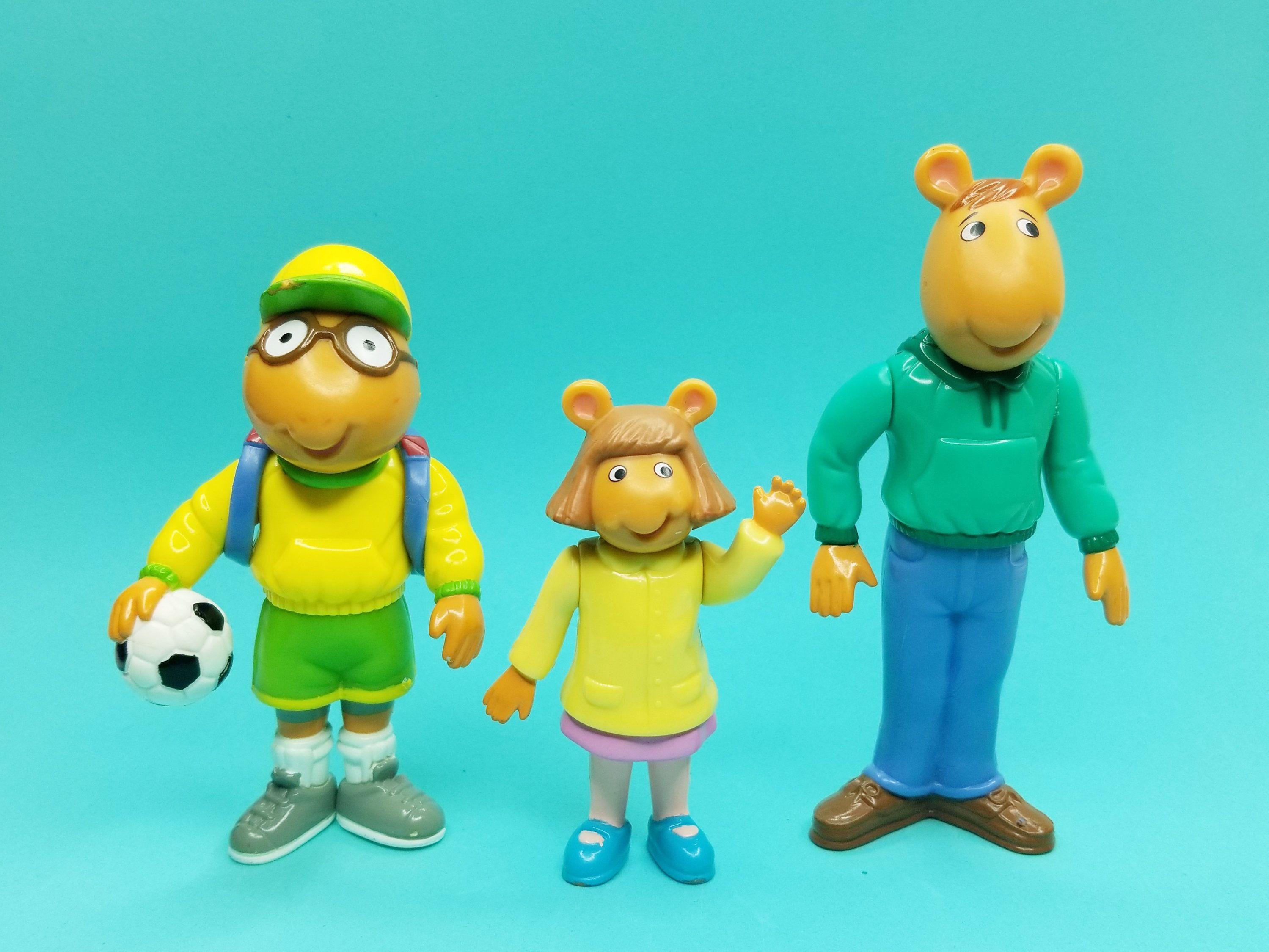 Pbs Kids Arthur Aardvark Dw And Dad Action Figures 1996 Hasbro Etsy In 2020 Cartoon Tv Cartoon Tv Shows Pbs Kids