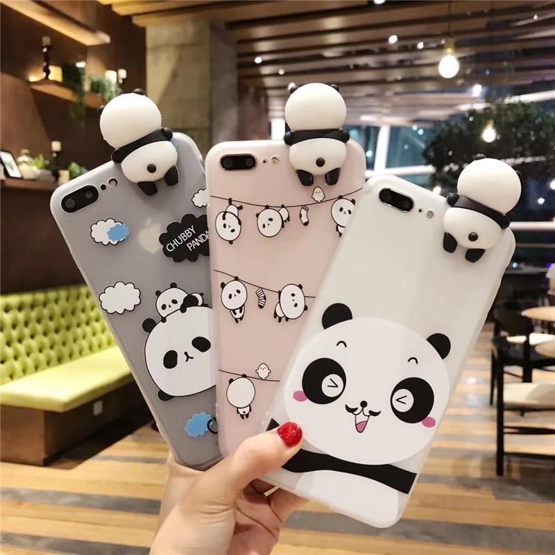 Cute I Love Panda iPhone Case Girly Giggles Panda