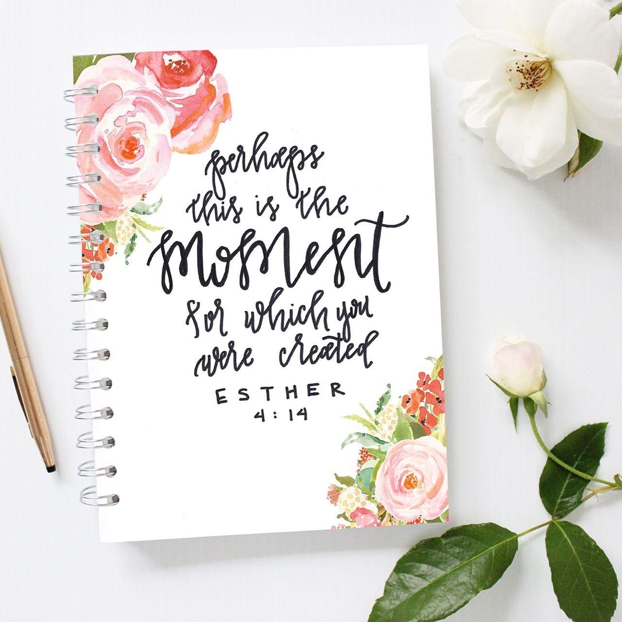 Esther 4:14 Journal | Esther 4 14, Soul scripts, Esther