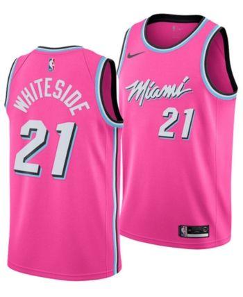 size 40 8d55a 2f3d5 Nike Men's Hassan Whiteside Miami Heat Earned Edition ...