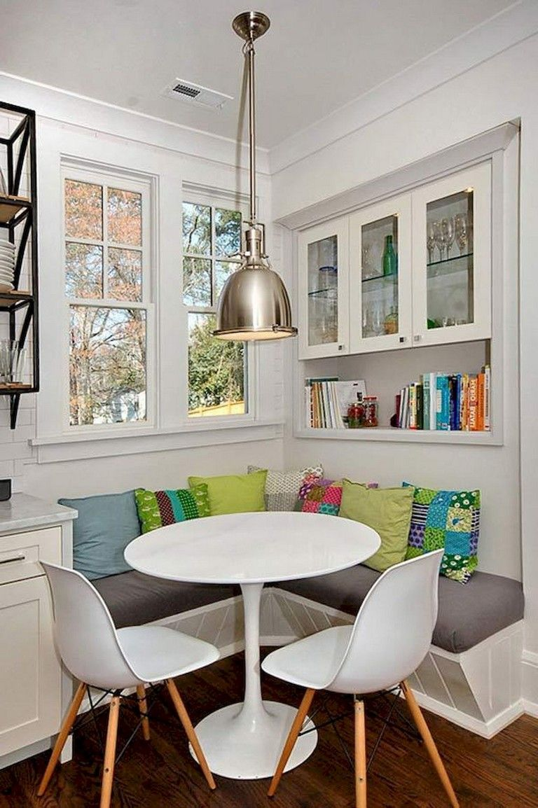 45 Inexpensive Breakfast Nook Ideas For Tiny Apartment Dining