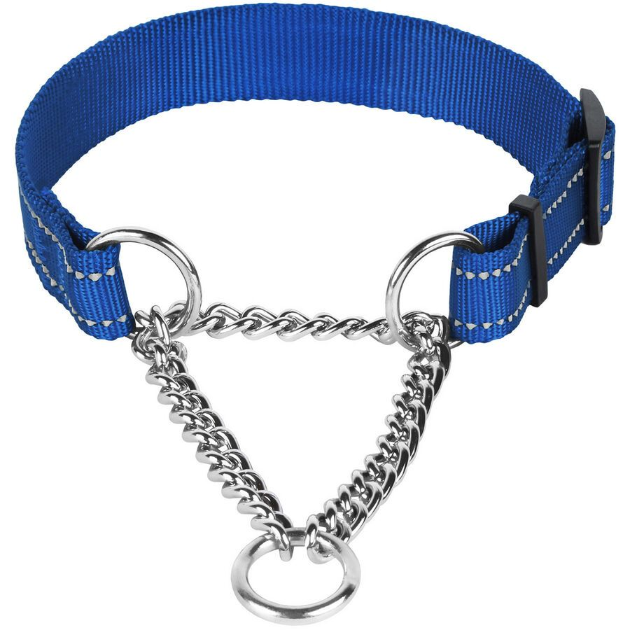 Martingale Dog Collar Reflective Pet Choke Collars Training