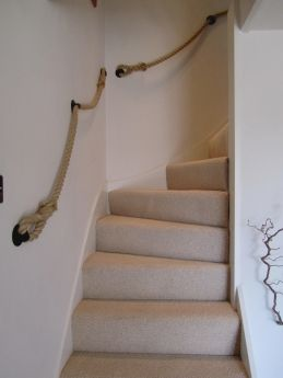 Rope Banister Customer Photos Rope And Splice Your