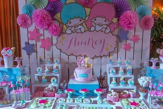 Fiesta de gemelos como decorar una fiesta de gemelos for Decorar habitacion nino y nina juntos