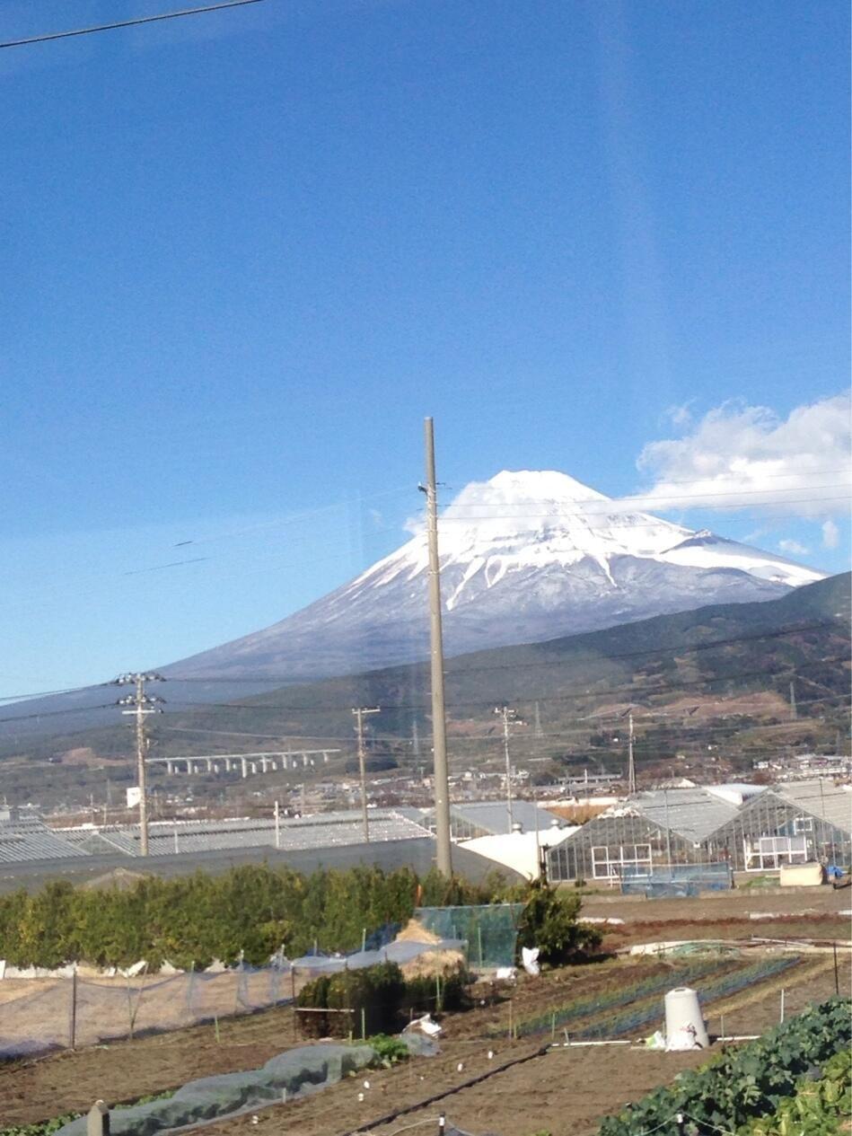 富士山通過中(*^_^*)