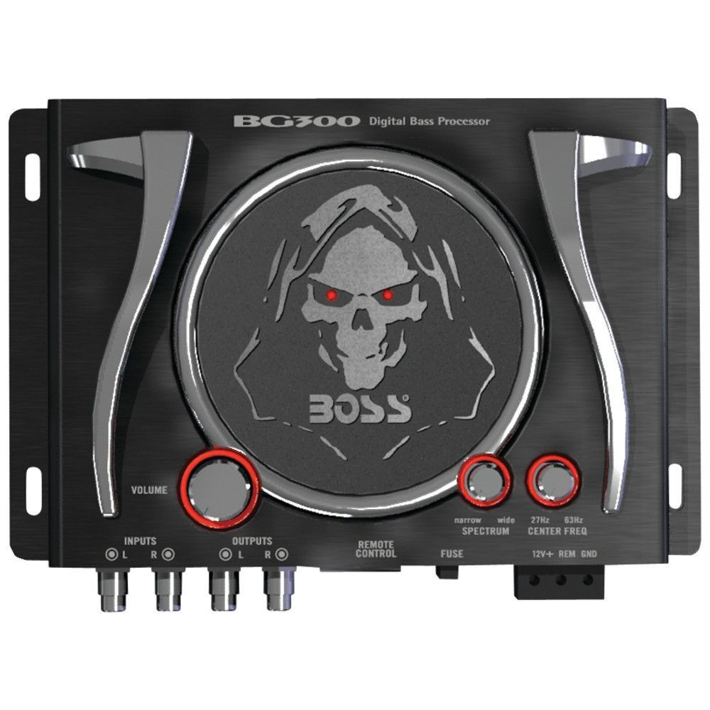 Boss Audio Bass Generator With Illuminated Logo Controls Boss Audio Bass Boss