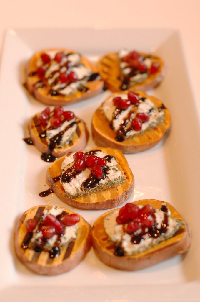 Recipe Redux: Sweet Potato Bruschetta