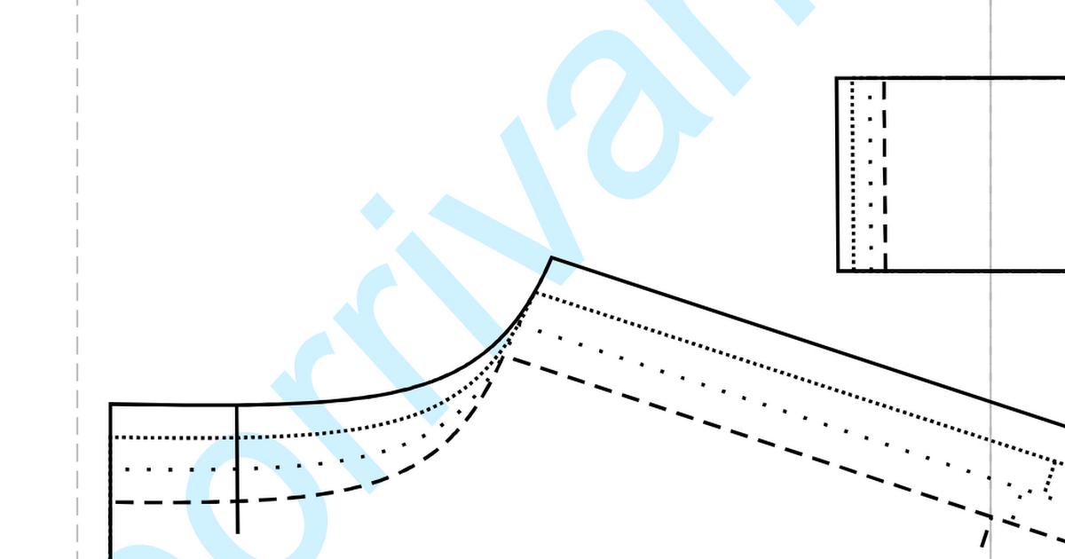patrón vestido de fiesta porrivan tallas (44-50).pdf | patrones y ...