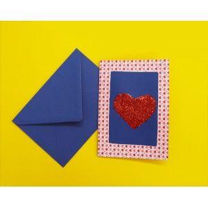 Liebe basteln Ba01148 Karten Hintergrundpapier Bastelmaterial Herz