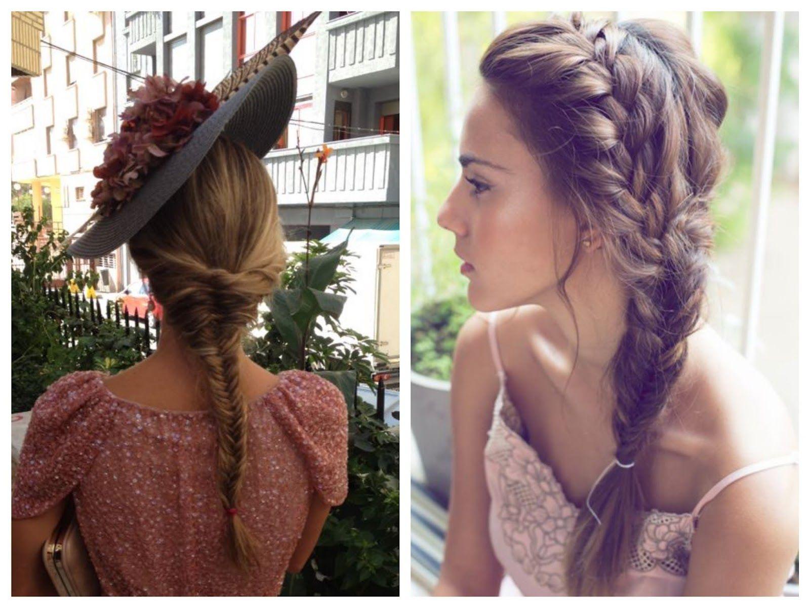 Sweet bodas trenzas para novias e invitadas peinados for Trenza boda