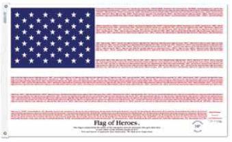 Flag Of Hero S Www Venasflagstore Com Flag Commemoration Hero