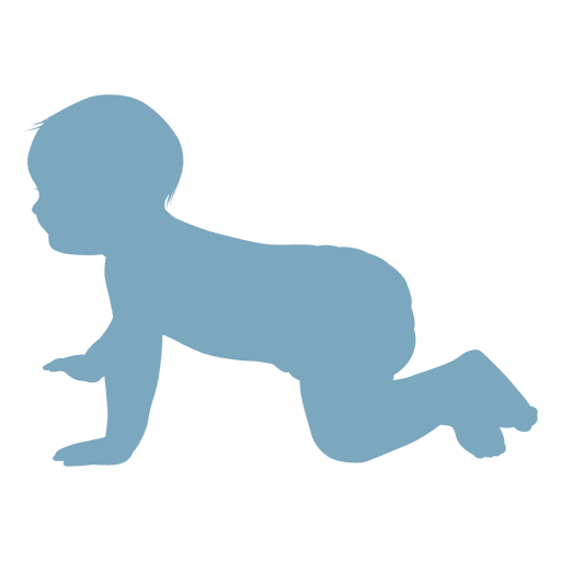 Baby Crawling Silhouette Ad Ad Ad Silhouette Crawling Baby Crawling Baby Silhouette Png Background Design