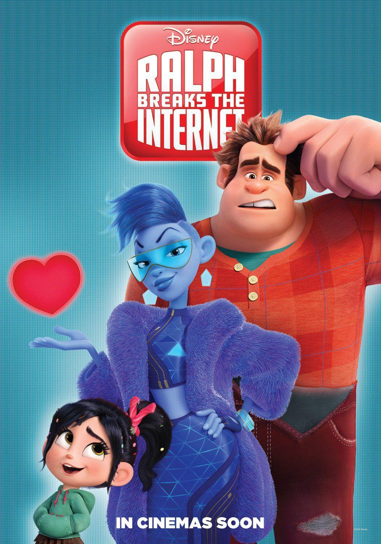 Resultado de imagem para WiFi Ralph: Quebrando a Internet  3 cartaz do filme