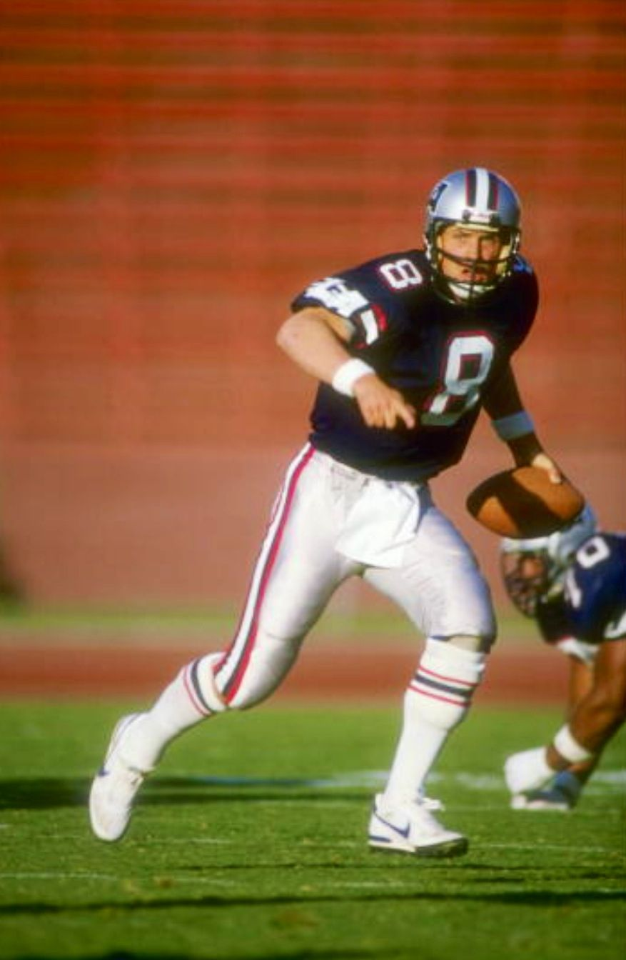 Steve Young Los Angeles Express American football league