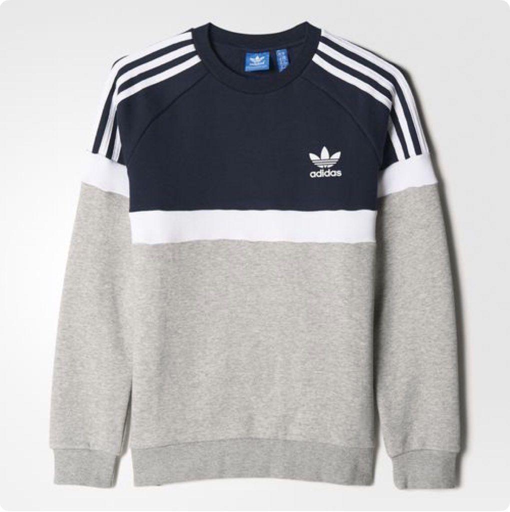 Adidas Adidas Outfit Fashion Addidas Shirts Mens Sweatshirts [ 1024 x 1020 Pixel ]