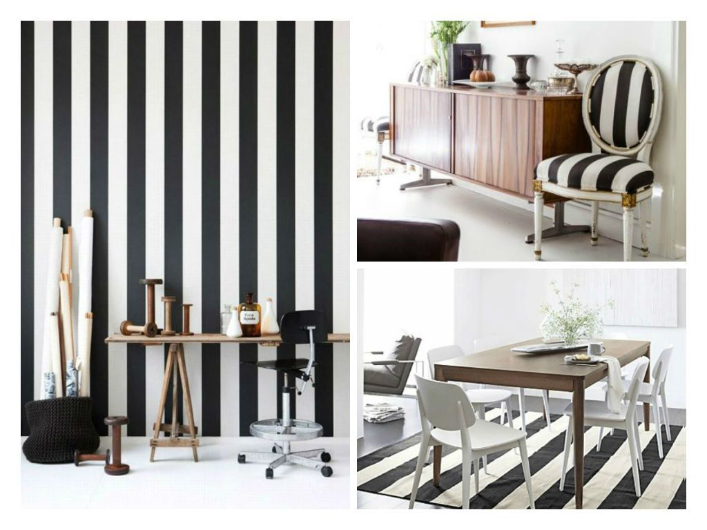 Stripes Decor: How To Integrate Black And White Stripes In Decoration | My  Desired Home