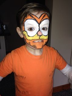 Image Result For Garfield Costume Diy Diy Costumes Kids Cat Halloween Costume Garfield Costume
