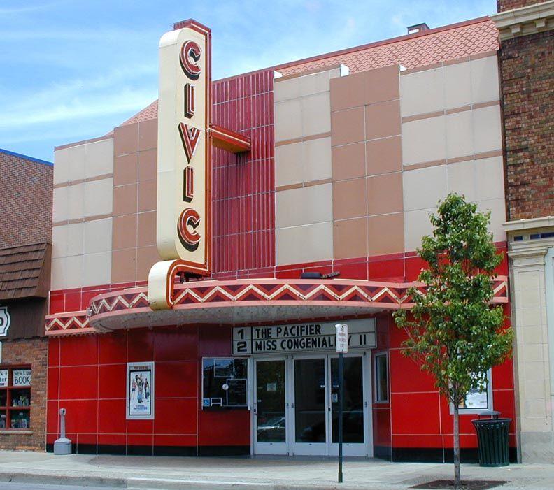 Civic theater in farmington miwhere i sawstar