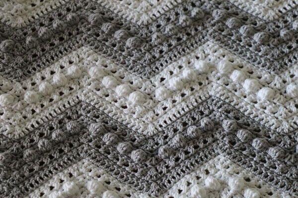 Hugs And Kisses Baby Blanket Baby Girl Crochet Blanket