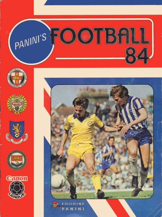 Football 84 Complete Your Album Panini Stickers 3