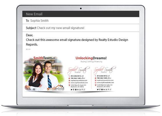real estate email signature 06 email signatures