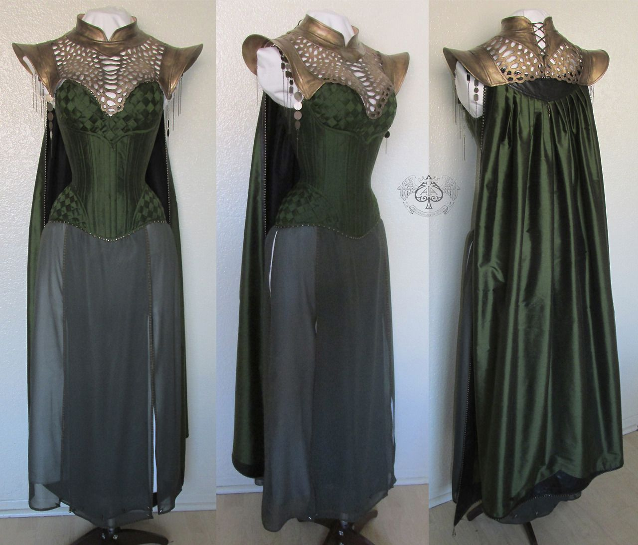Lady Loki costume For The Labyrinth of Jareth Masquerade Ball. The ...